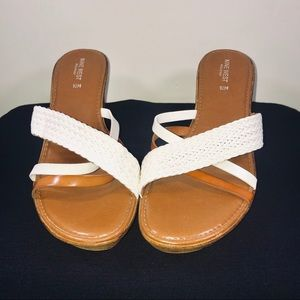 Nine West Beach House Strappy Wedge Sandal - #CB06